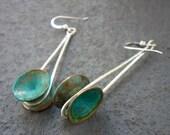 Kinetic Verdigris Earrings