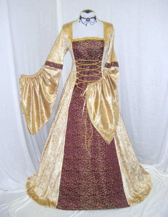 Unavailable listing on etsy for Tudor style wedding dress