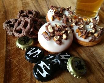 Vermont Beer & Pretzel mini donuts
