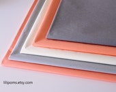 Moving Clearance---5 sets (60 sheets) 20''X30'' premium quality tissue paper, Satin Wrap,  choose your colors