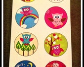 Owls Just Wanna Have Fun - Stickers