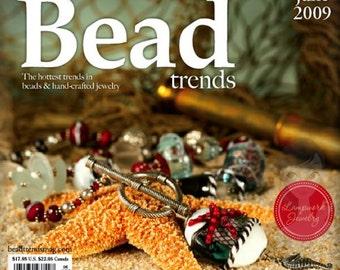 NEW Bead Trends Magazine June 2009 SBC