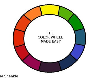 Digital Download eBook The Color Wheel Made Easy PDF