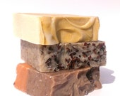 Choose any 3 bars of Handmade Farm Fresh Soaps