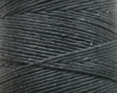 5 Yards of 6 ply Irish Waxed Linen Thread in Black