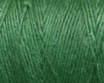 5 Yards of Green 4ply Irish Waxed Linen Thread
