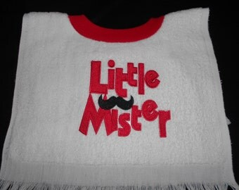 Little Mister, over the head bib
