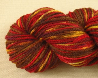 Multicolor Madness - Hand Dyed Worsted Weight Yarn - 100% Superwash Wool
