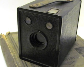 vintage Ansco Agfa box camera