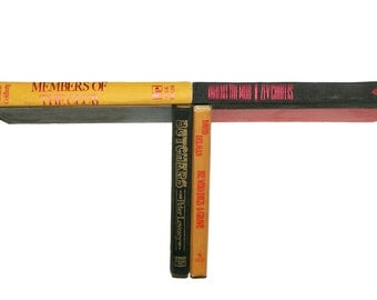 Floating Book Shelf - Mobster - Gangster Themed Shelf Made of Books