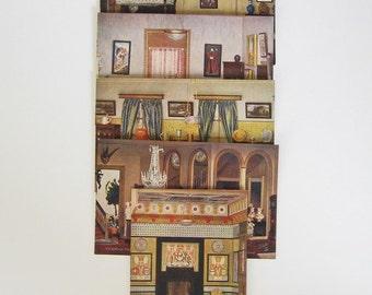 Vintage Postcards Titania's Palace Series II No. 4522 Raphael Tuck Oilette Color Unused English Antique Collectible