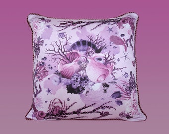 Reef Pillow - Purple