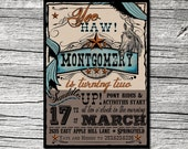 Wild West Invitations and Thank You Cards (sold separately)