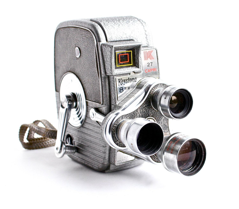 Vintage movie camera stock image Image of movie,