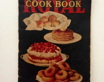 20s Vintage Royal Baking Powder Cookbook 1927
