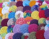 Reusable Cotton Balls / Mini Face Scrubbies - Set of 20