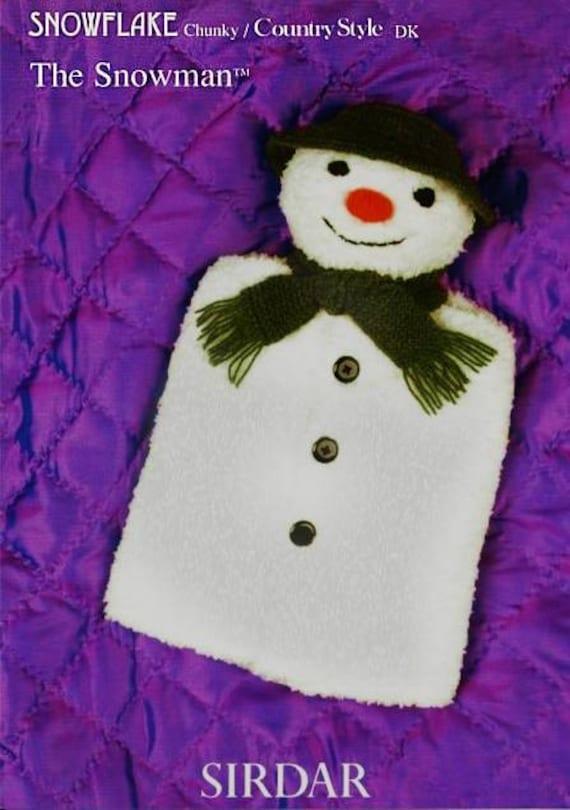 Items similar to THE SNOWMAN Knitting Pattern - Raymond Briggs - The Snowman ...