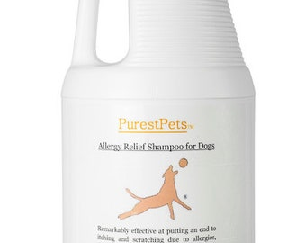 Allergy Relief Shampoo for Dogs, Medicated Dog Shampoo, 1 Gallon