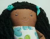 Baby Doll with embroideried face