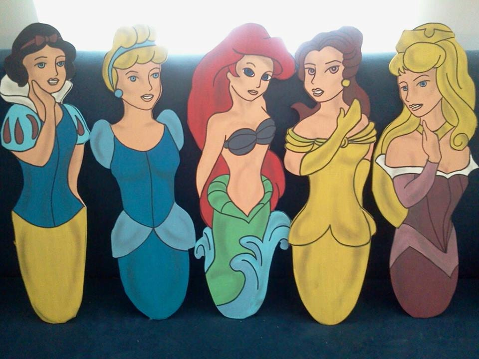 Disney Princess Ceiling Fan Blades By Cancreate On Etsy