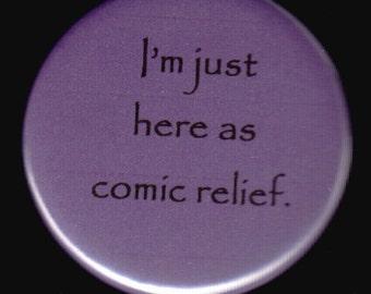 Comic Relief Button