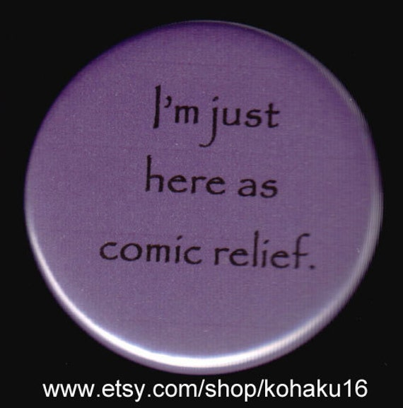 Comic Relief Button