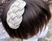 Braided Headband / Fascinator (Many Color Options) - Purty Hair by Kirkie Link on Etsy