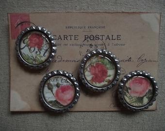 Magnet Set - Roses