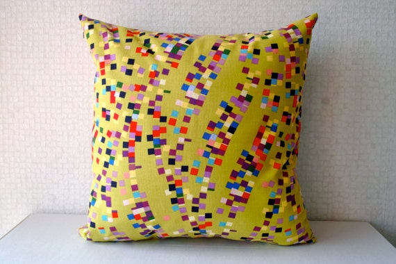 Items similar to modern decorative cushion cover 18 x18 - Housse de coussin 50x70 ...