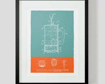 Coffee Kitchen Print