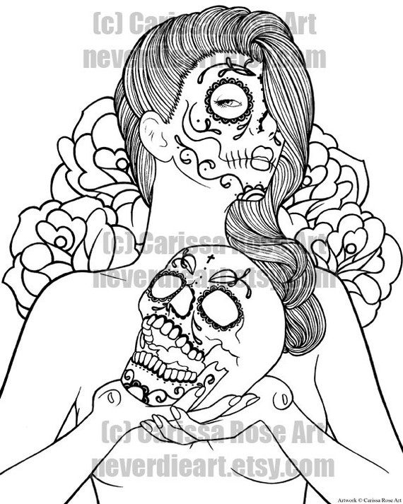 Vintage Pin Up Tattoo Coloring Pages Pin Up Coloring Pages