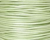 Leather-1.5mm Round Cord-Metallic Mania-1 Yard