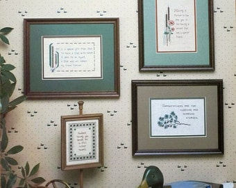 Cross Stitch Chart - My Favorite Men