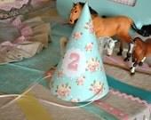 Shabby Chic Farm Party Hats