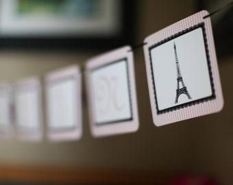 Oooh La La Paris France Inspired Party Banner