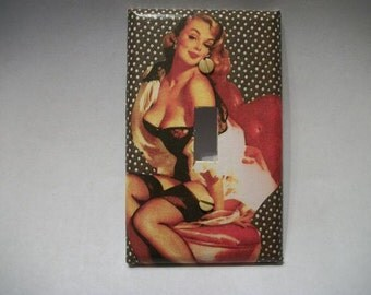 SWITCH PLATE COVER - Sexy Pinup