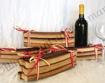 "SMOKY BBQ STAVE - ""Smoky Staves"" - Wine Barrel Barbecue Staves -100% recycled"
