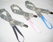 Universal Paci Clip Army ACU - Many Colors - Made to Order