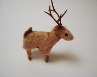 Tiny Deer for the Dollhouse