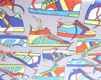 Sneaker Fabric Cotton Material Timeless Treasures
