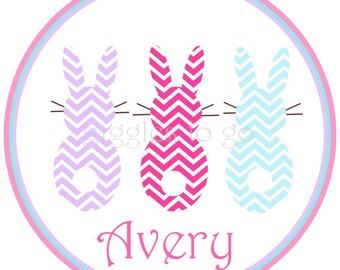 Easter Bunny 3 Sweetie Girls Iron on