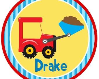 Iron On Dump Truck