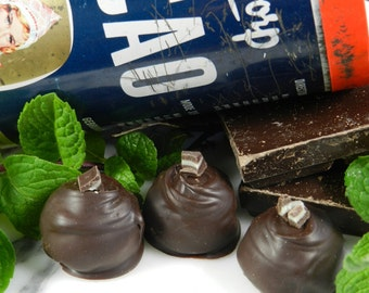 Truffle Collections, Traditional Truffles, Dark Chocolate, Belgian Chocolate, Chocolate Mint, Truffles, Hostess Gifts