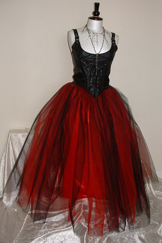 Long Tutus For Adults Long Black Red Adult Tutu