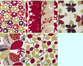 "Table Runner Red Summer Taupe 5 choices UK Funky Cotton (54"" 137cm)"