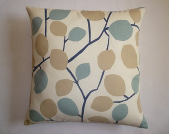 """Pillow Color choices Duck egg Blue Designer Cushion Cover Throw Scatter Pillow. ONE x 16"""" (40cm)"""