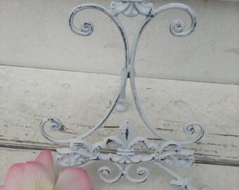 Easel/ Metal Easel/ Wedding Easel/ White Easel/ Wedding Decor/ Wedding Prop/ Home and Garden Decor
