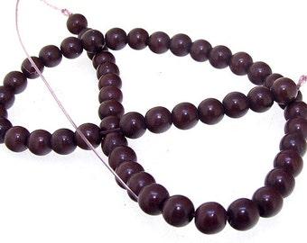 Charm 8MM Round  Howlite Turquoise Gemstone Beads One Strand