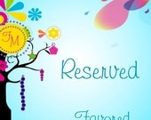 Reserved for Monica