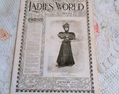 Dec 1896 EDWARDIAN LADIES WORLD Magazine Pristine, Women Household Decor Fashion Needlework Fashion Children, Poetry, Downton Era, Victorian